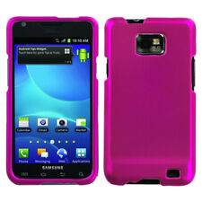 For I777 Galaxy S II Titanium Solid Hot Pink Phone Protector Cover