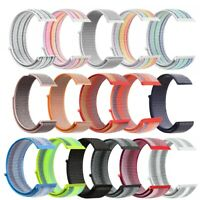 For Fitbit Versa/Lite Sport Replacement Nylon Loop Wrist Watch Band Strap 22mm