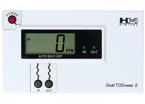 TDS Meter/Monitor - Authentic HM Digital DM-2 Inline Dual Channel TDS Monitor