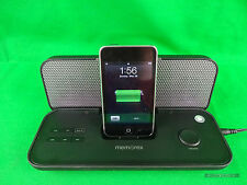 MEMOREX Mi3602PBLK Pure Play Portable Speaker Iphone Ipod 3GS 3G 4 4S Black