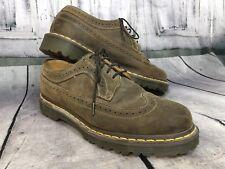 Dr. Doc Martens Mens Brogue Oxfords Wingtip Shoes Brown Sz 9M 9 M