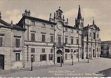 PIEVE DI CENTO (Bologna) - Municipio e Collegiata di S.Maria Maggiore