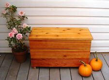 Cedar Chest and Seat New 30 x 13 x 19 Inches L x W x H