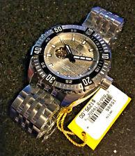@New Invicta 50mm Jason Taylor Signature Automatic Watch Open Heart 15885