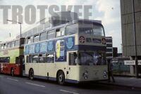 35mm Slide Thamesdown Transport Daimler Fleetline ECW 201 BMR201V 1984 Original