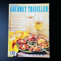 Australian Gourmet Traveller March '90 Greece Brazil Wines for Spicy Food