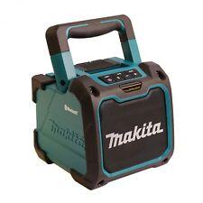 Makita DMR200 Kabelloser Bluetooth Lautsprecher Blau/Schwarz mit USB