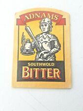 Vintage ADNAMS  /  SOUTHWOLD BITTER - Cat No'16  Beer mat / Coaster