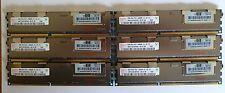 48GB (6x8GB) Hp ML150 ML330 ML350 ML370 G6 G7 G8 Z800 PC3-10600R ECC Memoria DDR3