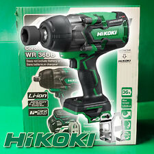 Hitachi HiKOKI 36V Cordless Brushless High torque IP56 1/2 Impact Wrench WR36DB