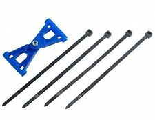 3x6 and 4x6 tail boom support for 450 size helicopters EDN1231BLU