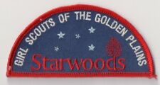 Girl Scout Patch, Camp Starwoods Kansas, Girl Scouts of the Golden Plains