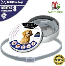 Dewel Anti Flea And Tick Control Collar For Small Large Dog 8 Months Protection