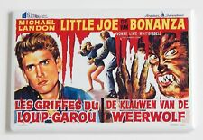 I Was a Teenage Werewolf (Italy) FRIDGE MAGNET (2.5 x 3.5 inches) movie poster