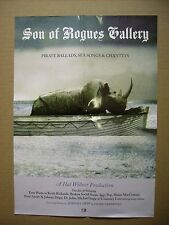 SON OF ROGUES GALLERY OFFICIAL  PROMO POSTER ADVERT CM.41x60