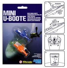 😊 Backpulver Mini U-Boote 4M ®  Geschenk Mitgebsel Mitbringsel spielend lernen