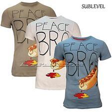 SUBLEVEL HERREN T-SHIRT Peace Bro - Shirt   Gr.S,M,L,XL,XXL