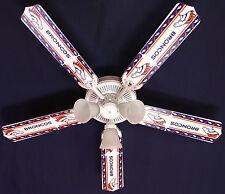"New NFL DENVER BRONCOS FOOTBALL Ceiling Fan 52"""
