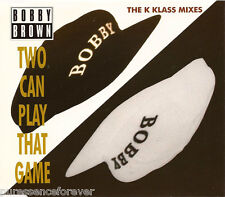 BOBBY BROWN - Two Can Play That Game: The K Klass Mixes (UK 4 Tk CD Single Pt 2)
