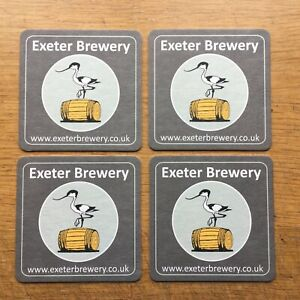 4 X Beer Mats from the ' Exeter Brewery '
