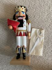 RARE! Christian Ulbricht Signed & # Jack of Diamonds Nutcracker