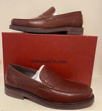 Donald Pliner Brand New Brown leather slip on loafer shoe size 11.5