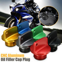 CNC Motorcycle Bike Oil Filler Cap Plug For Honda Ducati Kawasaki Ninja Triumph