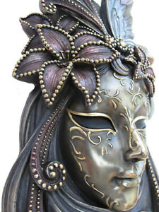 Venetian Mask Giglio Die Lily Wall Decoration Carnival Venice Masquerade 20406
