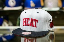 Mitchell and Ness Miami Heat Denim Blue NBA Basketball Snapback