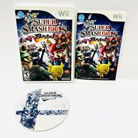 SUPER SMASH BROS. BRAWL Nintendo Wii Game W Manual COMPLETE And TESTED Working!