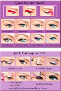 ORIGINAL Quick Eyeliner Stickies Make-up Sticker Eye Makeup Free Shipping XUK2