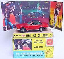 Gmc Design Corgi 1:43 Beverly Hills Cop Eddie Murphy Mercedes-Benz Code 3 Car Mb