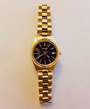 Pulsar Ladies Stainless Steel Gold Plated Quartz Watch