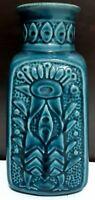 Vintage BAY Ceramic Fat Lava Vase West German Pottery 96 20 Mid Century