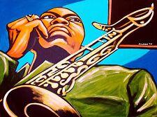 JOHN COLTRANE PRINT poster blue trane cd lush life tenor saxophone ballads sax