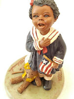 Vintage Americana  M Holcombe [ Nellie ]..God is Love.. Figurine.