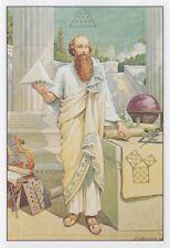 Pythagoras of Crotona: J. Augustus Knapp  :  circa 1926  :  Fine Art Print