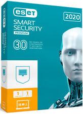 ESET anti virus software 2020 ESET Smart Security 1PC / 2 YEAR