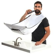 Man Bathroom Shaving Apron Apron Black Beard Apron Waterproof Beard Mustache...
