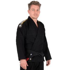 Tatami Nova Absolute BJJ Gi Black Jiu Jitsu Kimono Uniform - Free White Belt