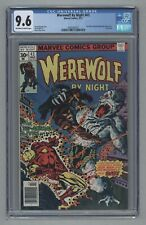 Werewolf By Night #43 Final Issue 1977 Moon Knight Disney Plus Related CGC 9.6