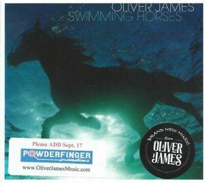 Oliver James ~ Swimming Horses CD Radio Station Promo