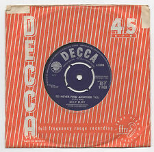 "BILLY FURY - I'd Never Find Another You - 1961 UK 7"" SINGLE    *FREE UK POSTAGE*"