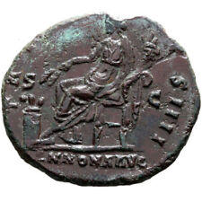 Cleaned Dupondius Roman Imperial Coins (96 AD-235 AD)
