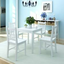 Square Dining Tables Sets with 4 Seats