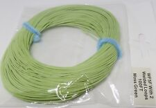 WF-5-F FLY LINE with LOOPS floating fly line / moss green