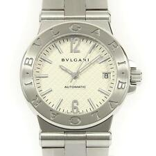 Authentic BVLGARI DG35S DG35WSSD AT Diagono Automatic  #260-001-612-3496