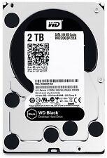 """WD 2 TB BLACK (WD2003FZEX) 3.5"""" 7200RPM SATA 6GB/S Internal Desktop HDD + 5 YW"""