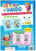 Kit Quaderno di viaggio 4° italiano+matematica, RAFFAELLO SCUOLA, vacanze