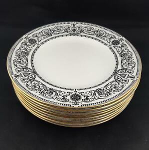 """Royal Worcester Padua Side Plates 8"""" Set of 8 Salad plates Vintage 1960s"""